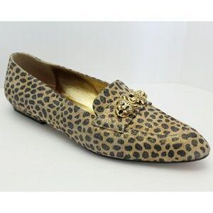 Vintage Leopard Print Flats